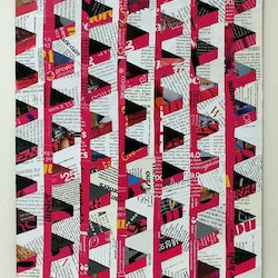 Hot pink architecture keren rubinstein bluethumb art