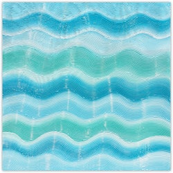 Ocean waves miranda lloyd bluethumb art
