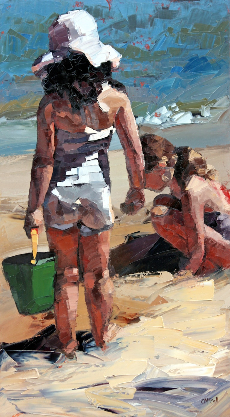 Sandcastles VI - Limited Edition Giclee Art Print 2/100