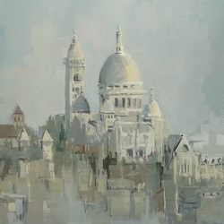 Sacre coeur from musee d orsay dylan shearsby bluethumb art