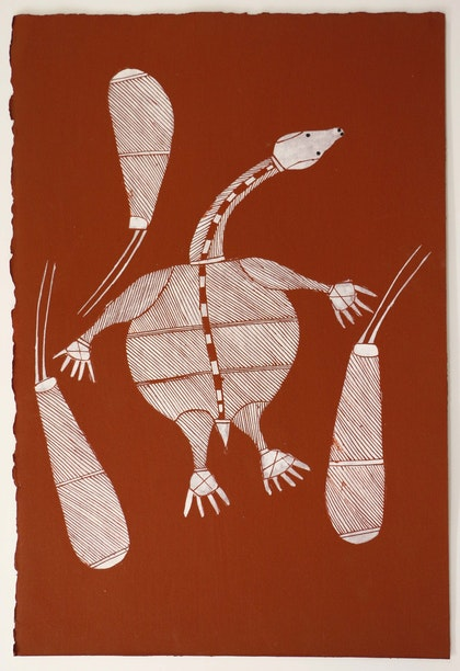 Ngalmangiyi (Long-Necked Turtle), 10856-11