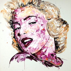 Marilyn monroe tim christinat bluethumb art