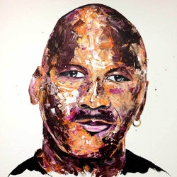 Michael jordan tim christinat bluethumb art
