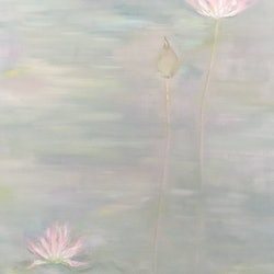 Pearly pond donna christie bluethumb art