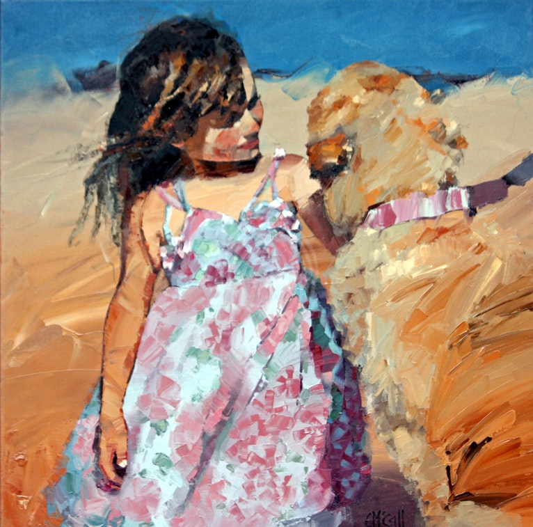 Puppy Love V - Limited Edition Giclee Art Print 3/100