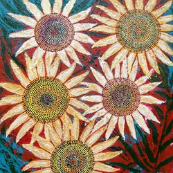 Summer flowers 2 of 2 corinne young bluethumb art