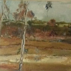 Along a country road smiths gully vic margaret morgan watkins bluethumb art