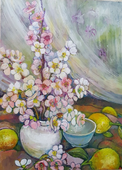 Japonica and Lemons