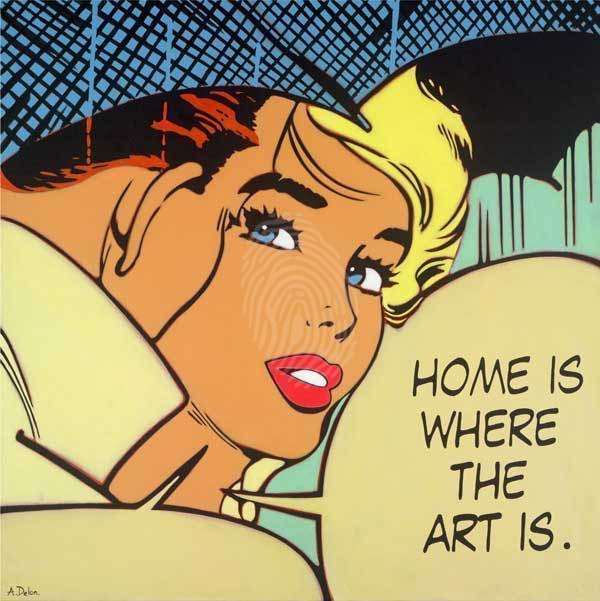 Home Is Where The Art Is