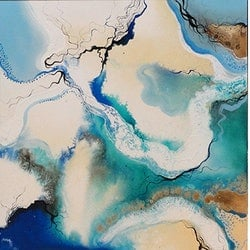 Salt river flow trio amelia farrugia bluethumb art