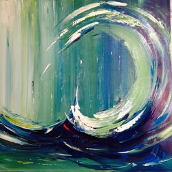 The wave liliana gigovic bluethumb art