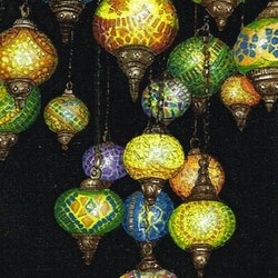 Turkish lights 2 jennifer o young bluethumb art
