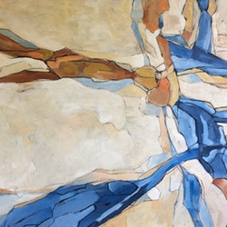 Rocks and shadows 2 sue bannister bluethumb art