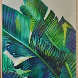 Banana leaf bliss tamara armstrong bluethumb art