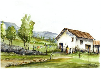 House in the Andes