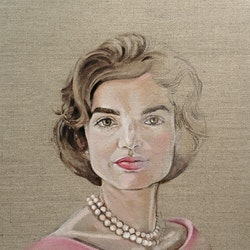 Jackie in pink donna christie bluethumb art