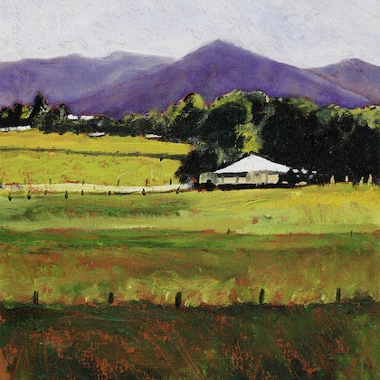 LANDSCAPE WITH QUEENSLANDER