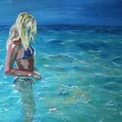 In the shallows julie hollis bluethumb art