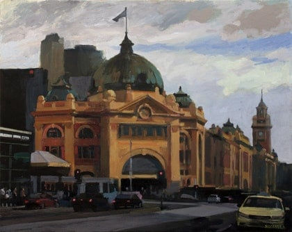 Flinders Street Station No4