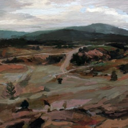 You yangs mountain bike track peter roccella bluethumb art