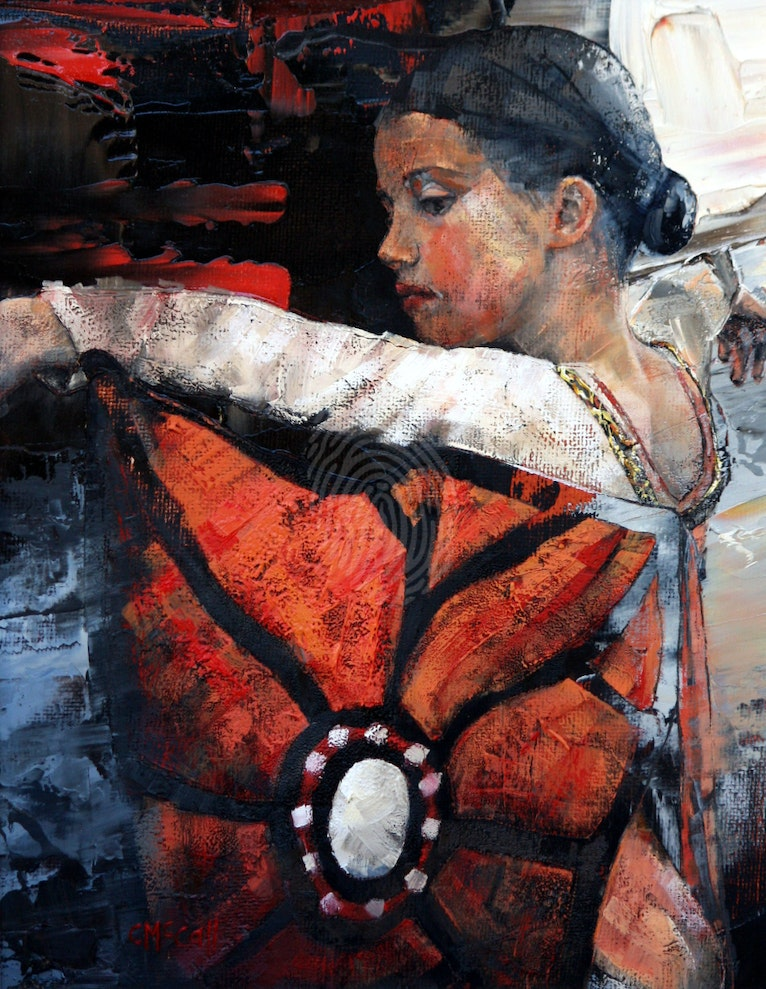 Butterfly Dancer - Limited Edition Gicle Art Print 4/50