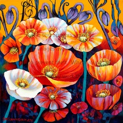 Iceland poppies 2 susan cunningham vibrant expressions bluethumb art