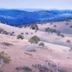 Central tablelands new south wales landscape painting jan matson bluethumb art 850e