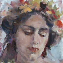 Crown of flowers lorraine lewitzka bluethumb art