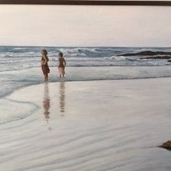 On cable beach sally wilkins bluethumb art