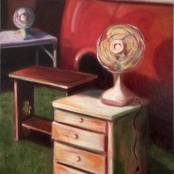 Two fans and a combi sally wilkins bluethumb art