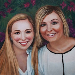 Commissioned portrait kirsten sivyer bluethumb art