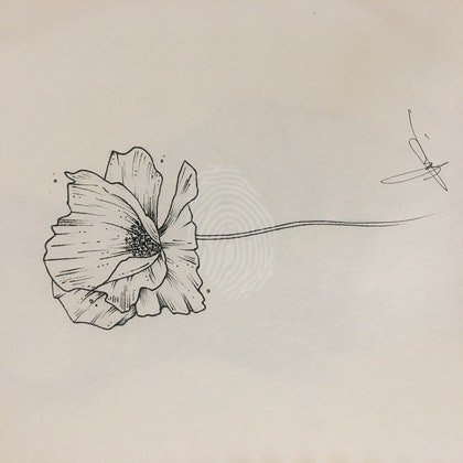 Lines to a Flower