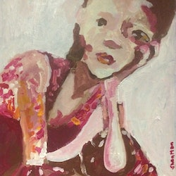 All dressed up and nowhere to go sharon monagle bluethumb art