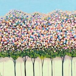 Spring blossoms ron brown bluethumb art