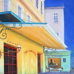 Cafe van gogh cafe la nuit jan matson bluethumb art