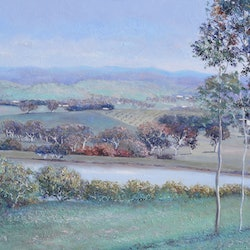 Autumn landscape new south wales jan matson bluethumb art