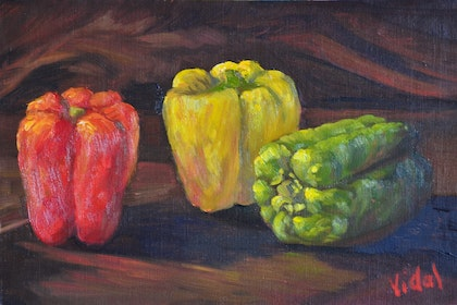 Still life Oil Painting - Colored diversity