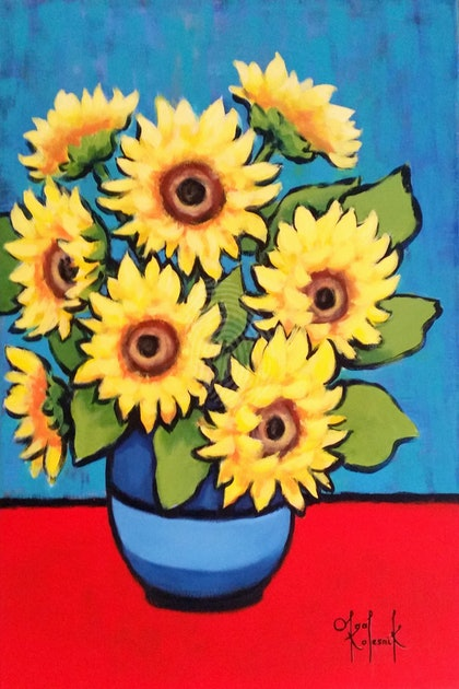 Colours of Summer. Sunflowers.