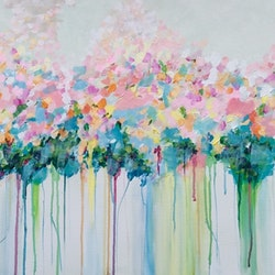 Springtime ron brown bluethumb art