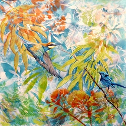 In the undergrowth susan skuse bluethumb art