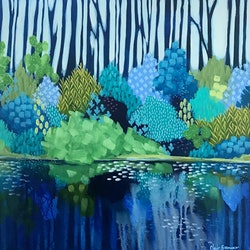 Tall trees clair bremner bluethumb art