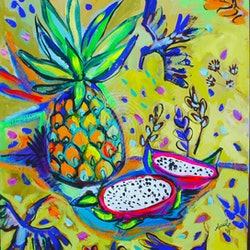Dragon fruit and birds katerina apale bluethumb art.jpg?w=250&h=250&fit=crop&mark=https%3a%2f%2fimages.bluethumb.com.au%2fbluethumb art assets%2fwatermark%2fbt watermark
