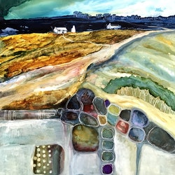 Road to a shack meg lewer bluethumb art