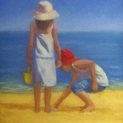 The shell collectors ann j parker bluethumb art