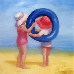 Helping hand ann j parker bluethumb art
