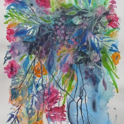 Blue vase with berries cynthia copley bluethumb art.jpg?w=250&h=250&fit=crop&mark=https%3a%2f%2fimages.bluethumb.com.au%2fbluethumb art assets%2fwatermark%2fbt watermark