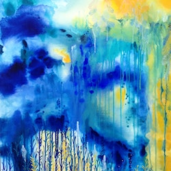 The gift from above leah doeland bluethumb art