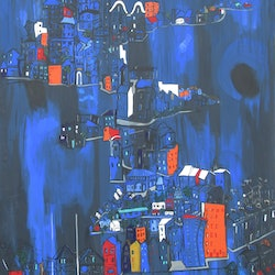 Homes structures shelters and edifices lesley taylor bluethumb art