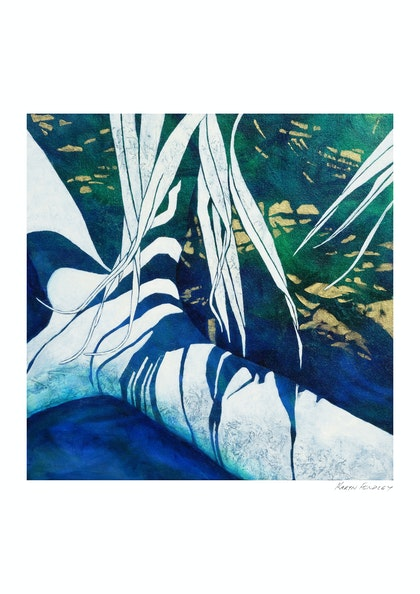 Under the Pandanus 2  (limited edition print #1 of 50)