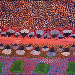 My mothers country jean rangi bluethumb art